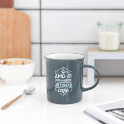Caneca Amo-te mesmo antes de tomar café