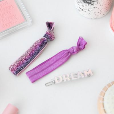 Elásticos para o cabelo + gancho dream