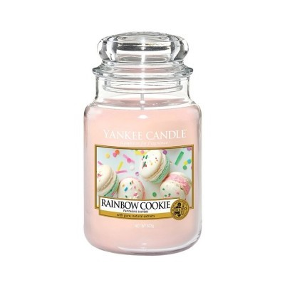 Yankee Candle Vela Perfumada Rainbow Cookie