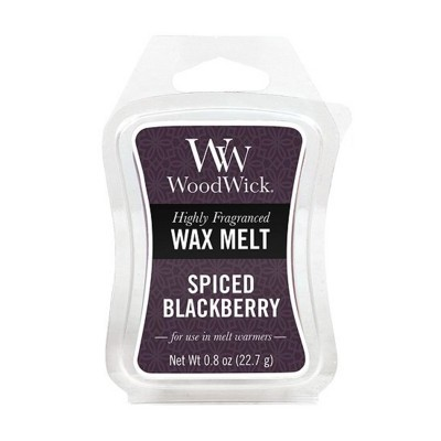 WoodWick Cera Perfumada Spiced Blackberry