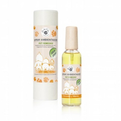 Boles d'olor Spray Stop Odor Pet Remedies Citronela e Menta