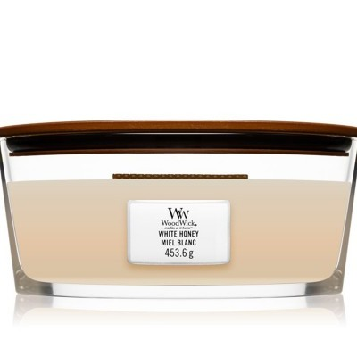WoodWick Elipse Vela White Honey
