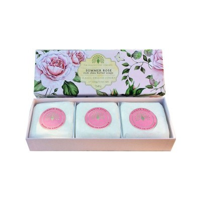 Sabonete 3x100g Summer Rose
