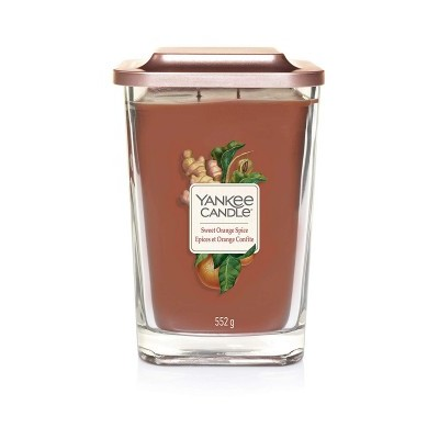 Yankee Candle Elevation Vela Perfumada Sweet Orange Spice