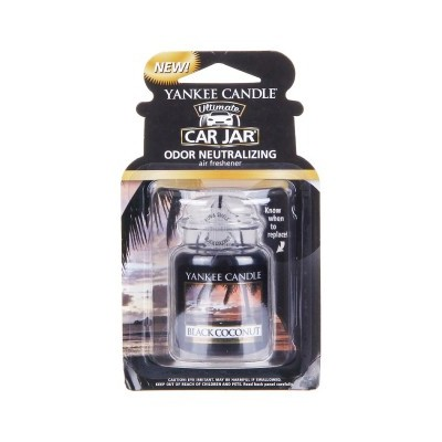 Yankee Candle Gel Carro Black Coconut
