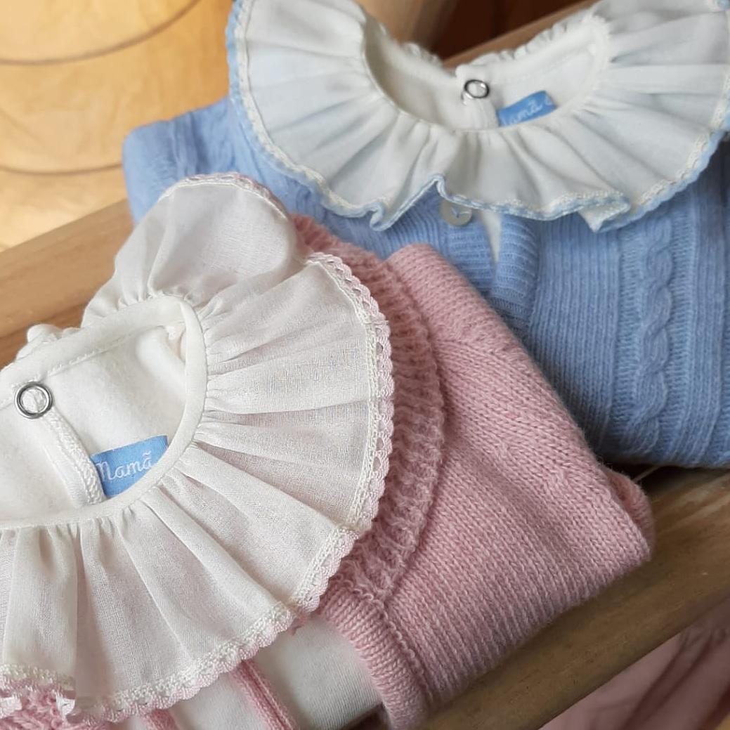 Rosa bebé ou Azul bebé