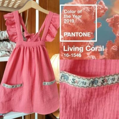 Vestido Safari Coral