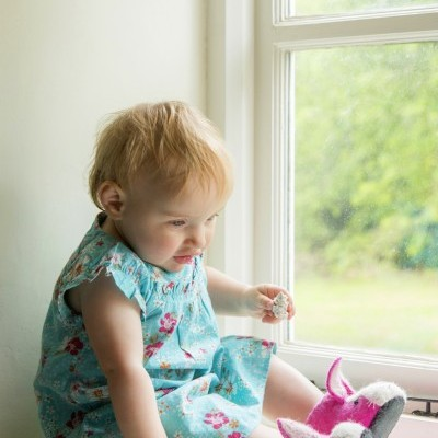 Sew Heart Felt - Pantufas (1-2 anos) Rosie Rabbit
