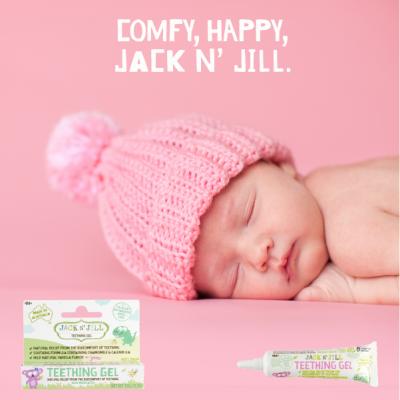 Jack N' Jill Kids - Gel de dentição
