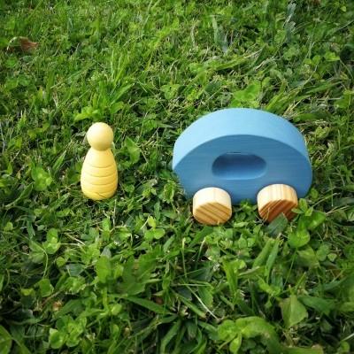 """Rupy Toys - Carro azul - """"Trinca"""""""
