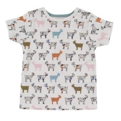 Pigeon Organics - T-Shirt 6-12 meses Goat SS20