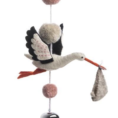 Sew Heart Felt - Mobile Eli the Stork