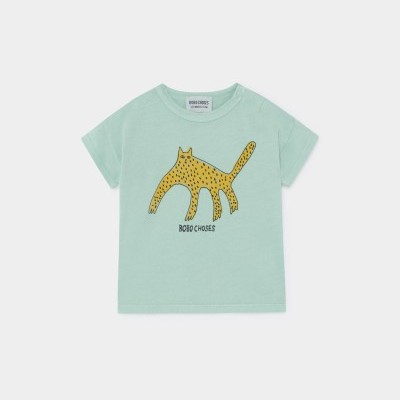 Bobo Choses - Leopard SS20 - T-Shirt Manga Curta