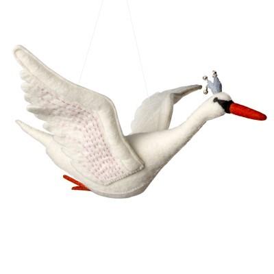 Sew Heart Felt - Mobile grande Odette, Swan