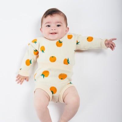Bobo Choses - Oranges SS20 - Culotte tricotada