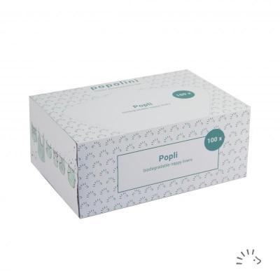 Popolini - Liners descartáveis - Caixa