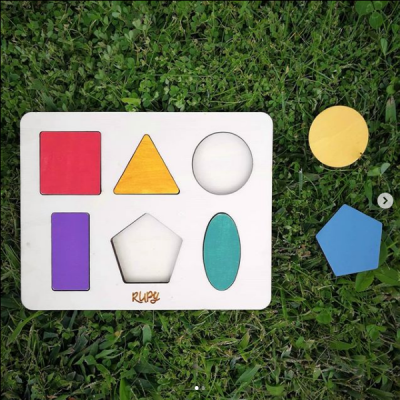 Rupy Toys - Puzzle Geométrico