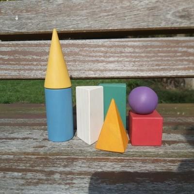 Rupy Toys - Sólidos geométricos coloridos