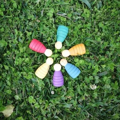 Rupy Toys - 6 Pys Coloridos - Personagens