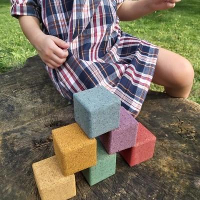 Rupy Toys - Blocos de cortiça coloridos