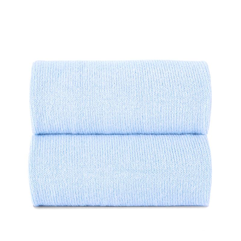 Collant liso azul bebé