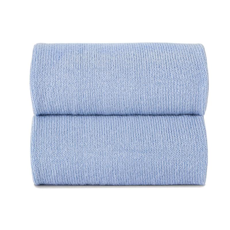 Collant liso azul claro
