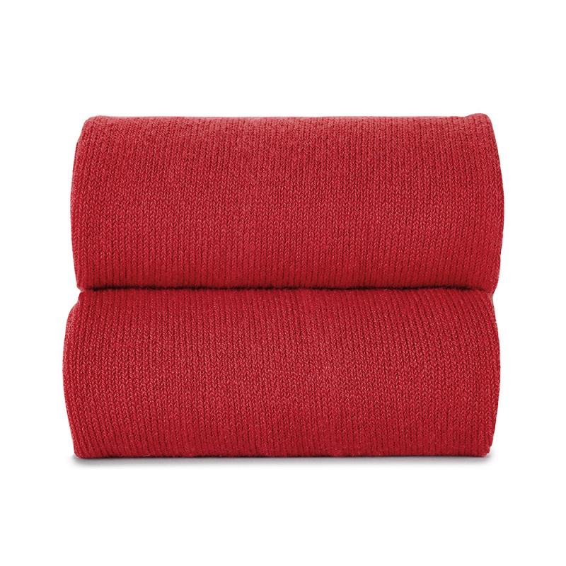 Collant liso vermelho
