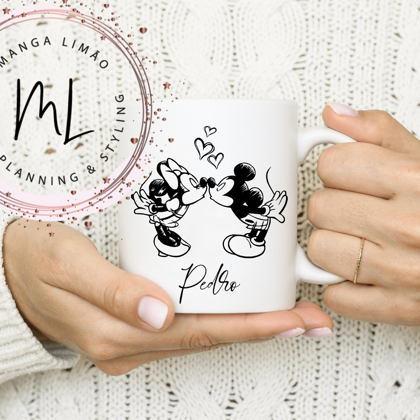 Caneca Mickey & Minnie