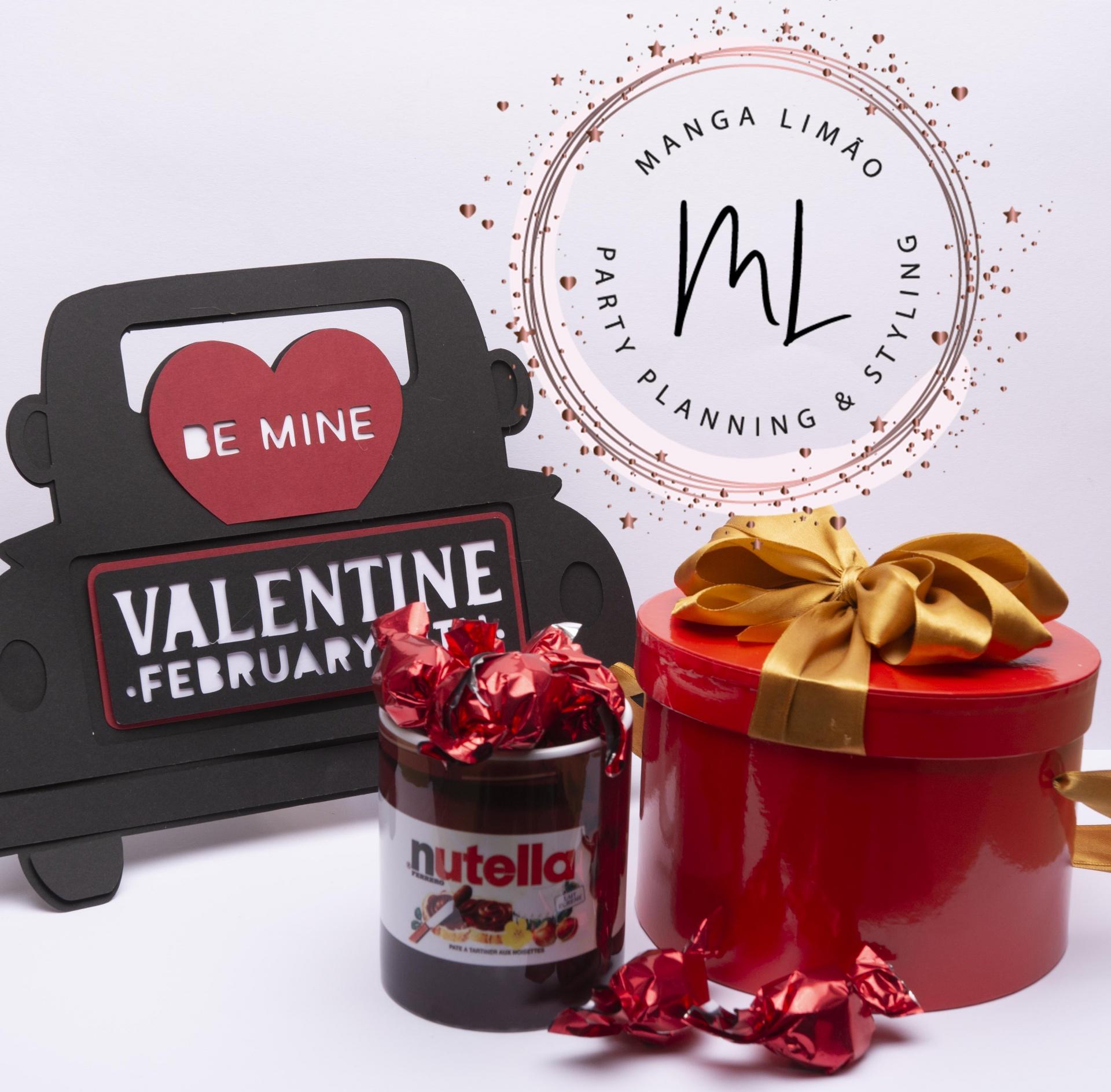 Pack oferta especial Namorados Caneca Nutella