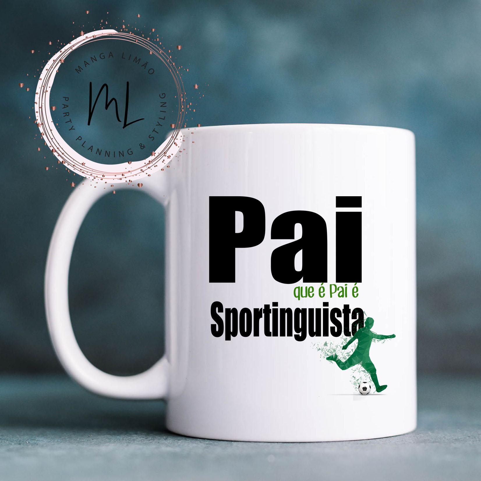 Caneca Pai Sportinguista