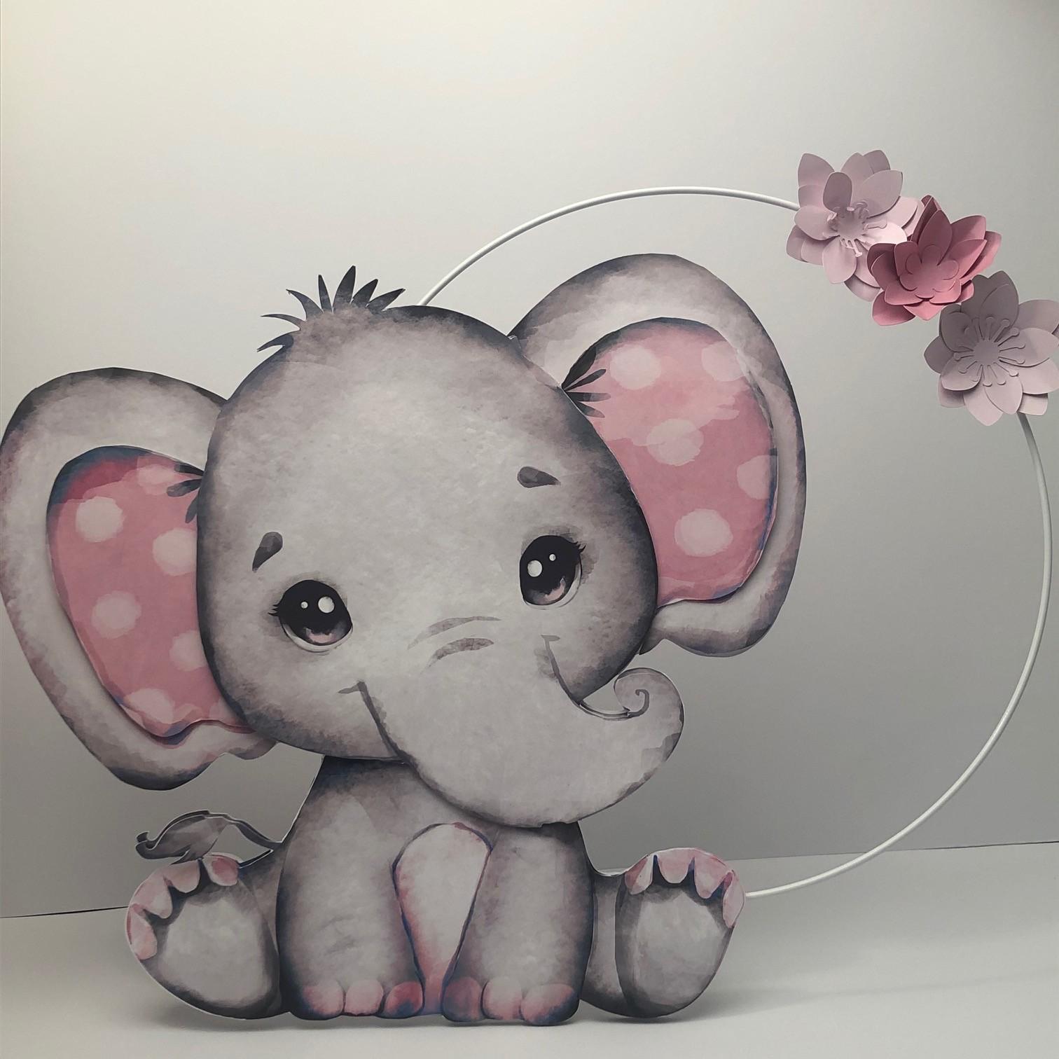 Elefante com Aro