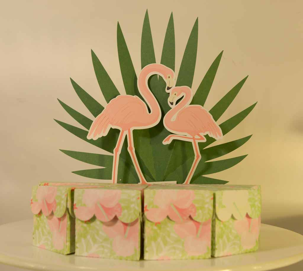 Falso bolo Flamingo