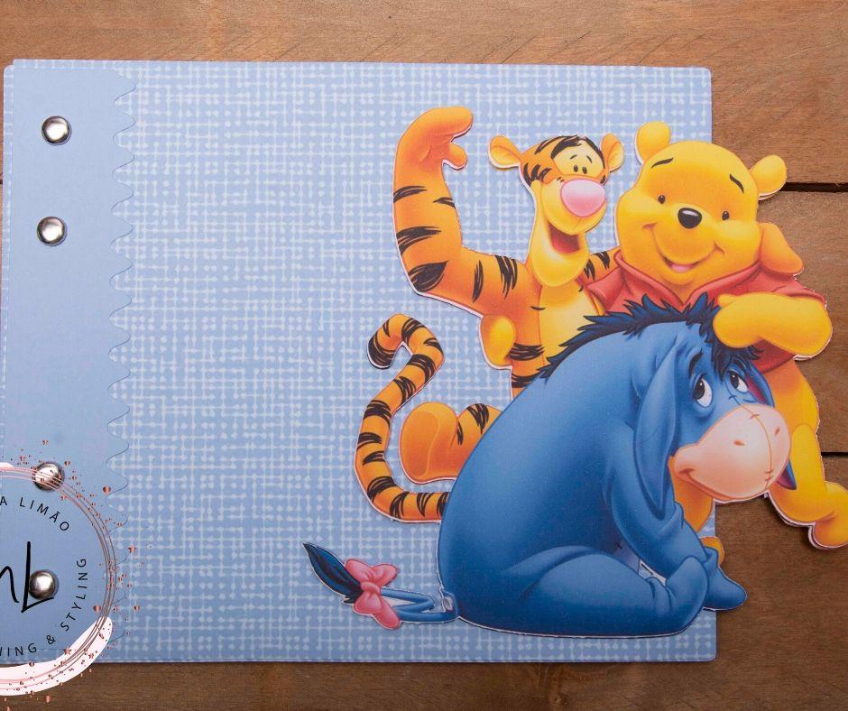 Livro de Recordações Winnie the Pooh