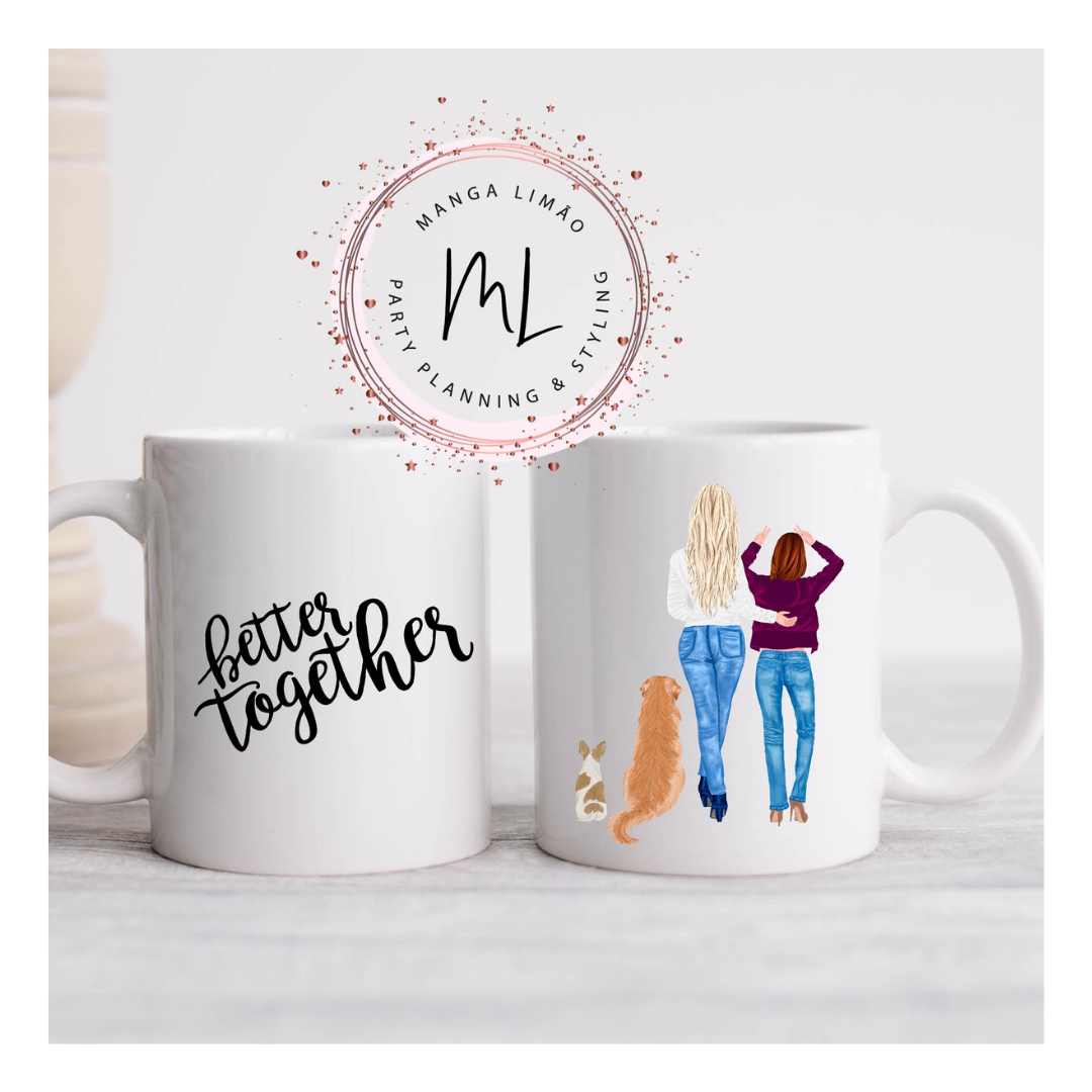 Caneca Better Together