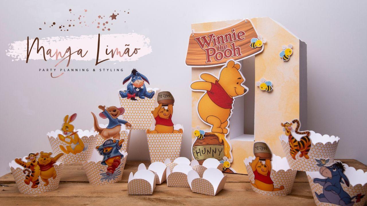 Kit Festa Winnie the Pooh