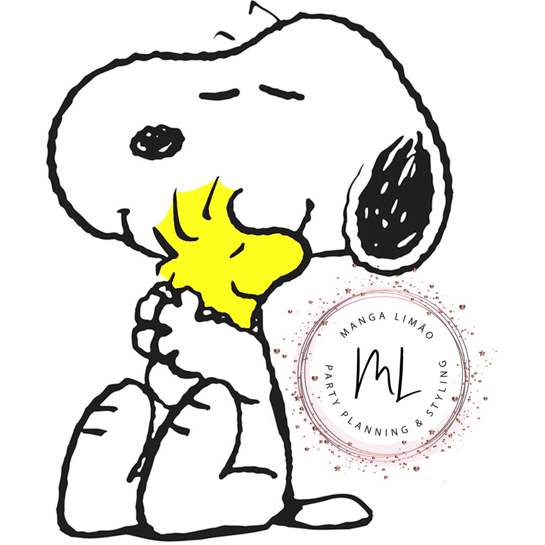 Imagem Snoopy para fazer Painel de Festa