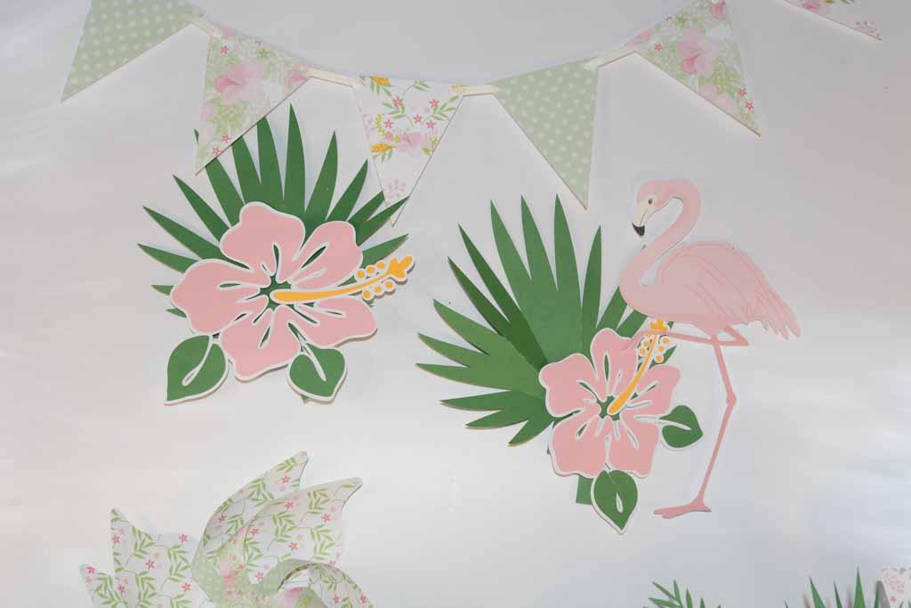 Decoração de Festa Flamingo