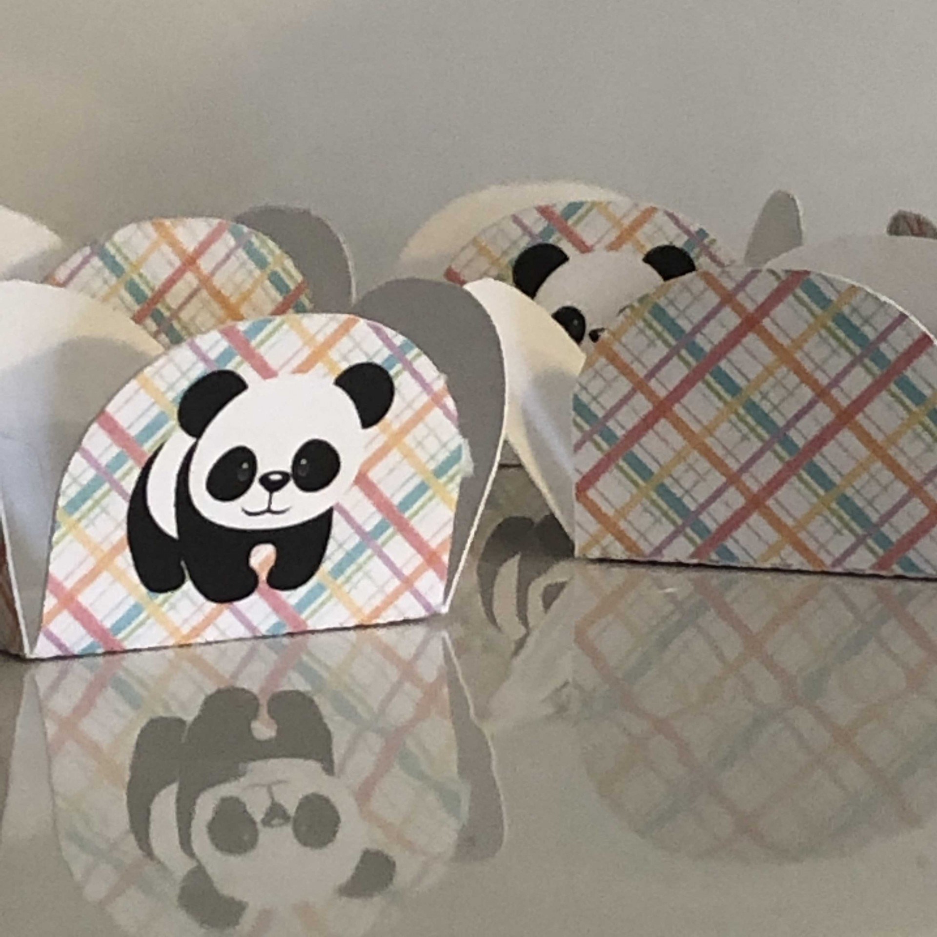 Formas Brigadeiro Xadrez e Panda