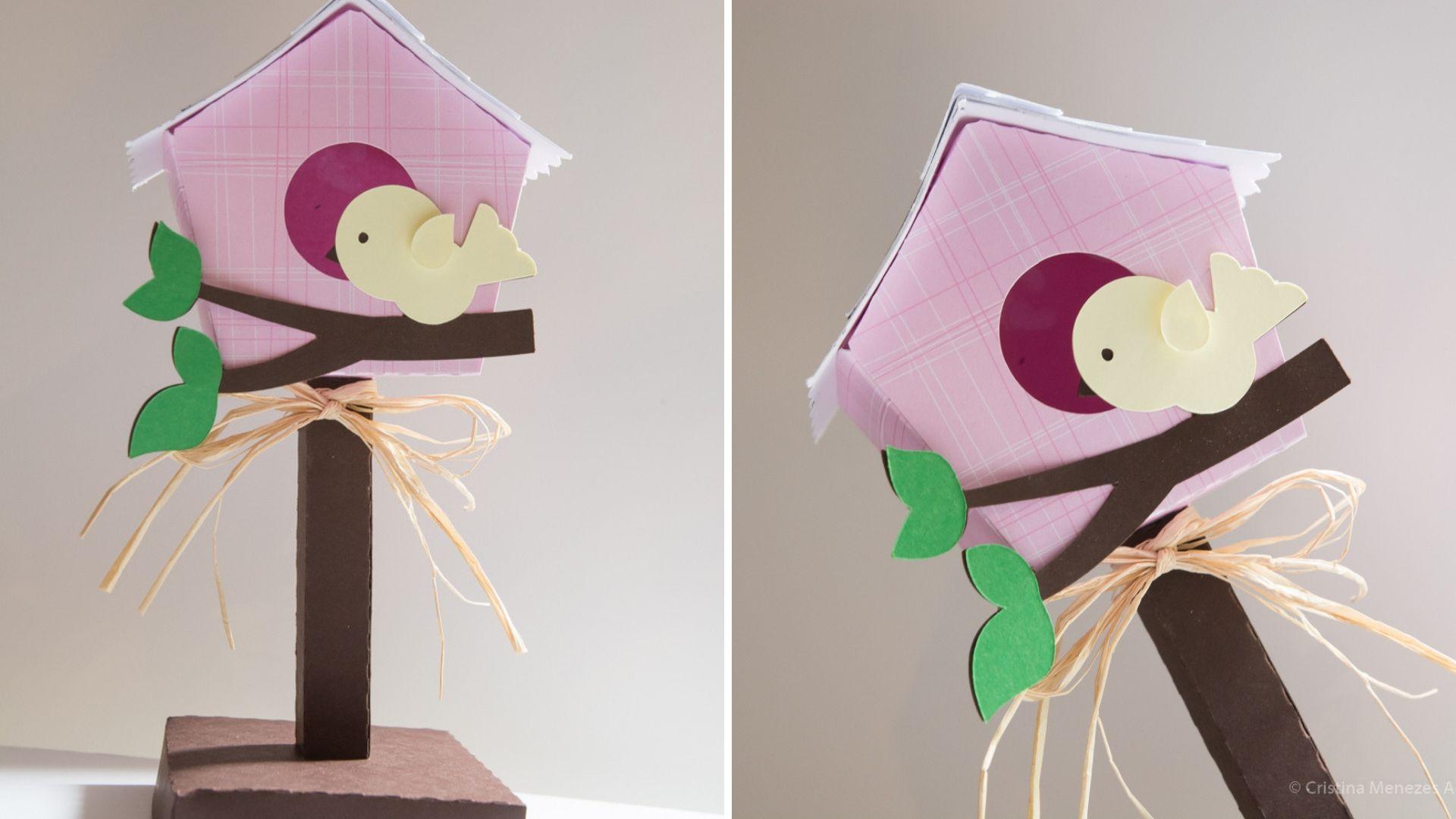 Casa passarinho 3D