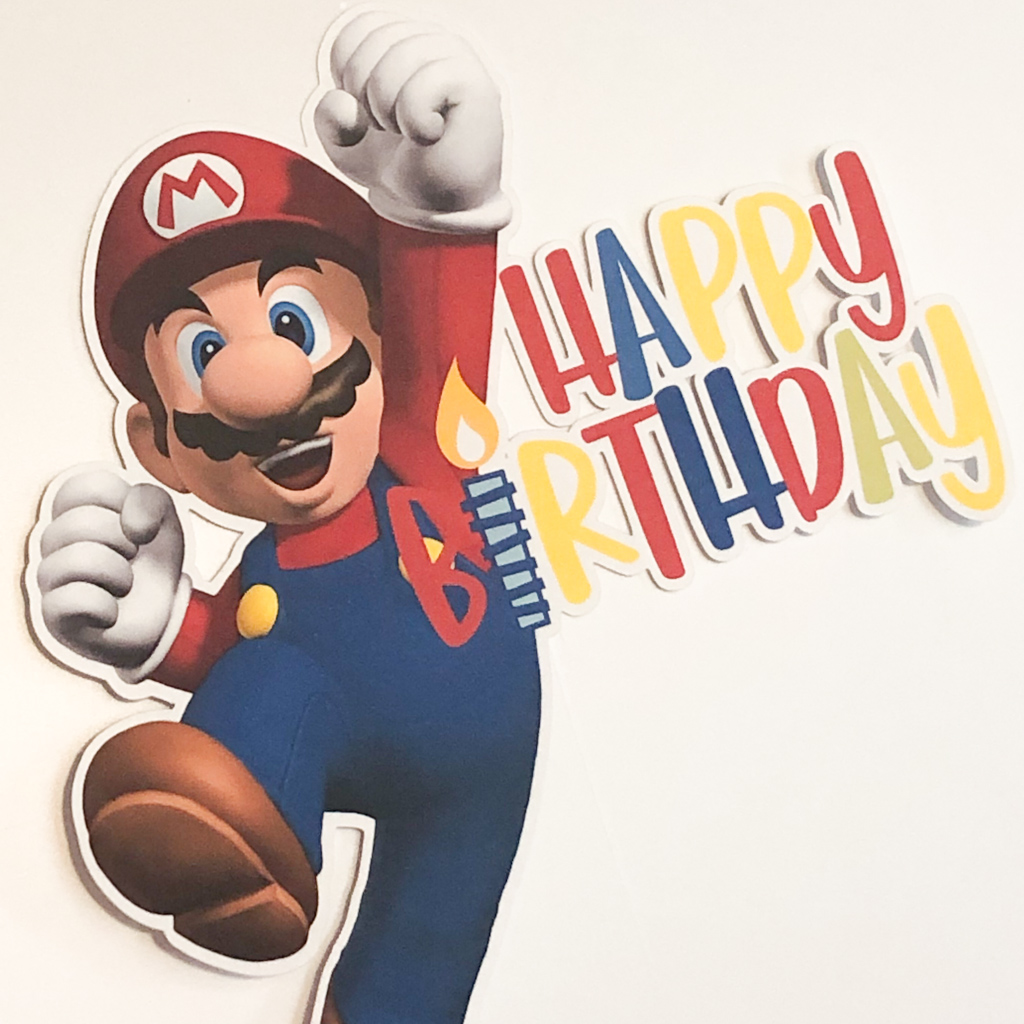 Super Mario Happy Birthday