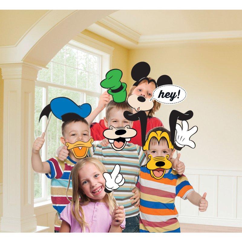 Acessórios photobooth Mickey e amigos