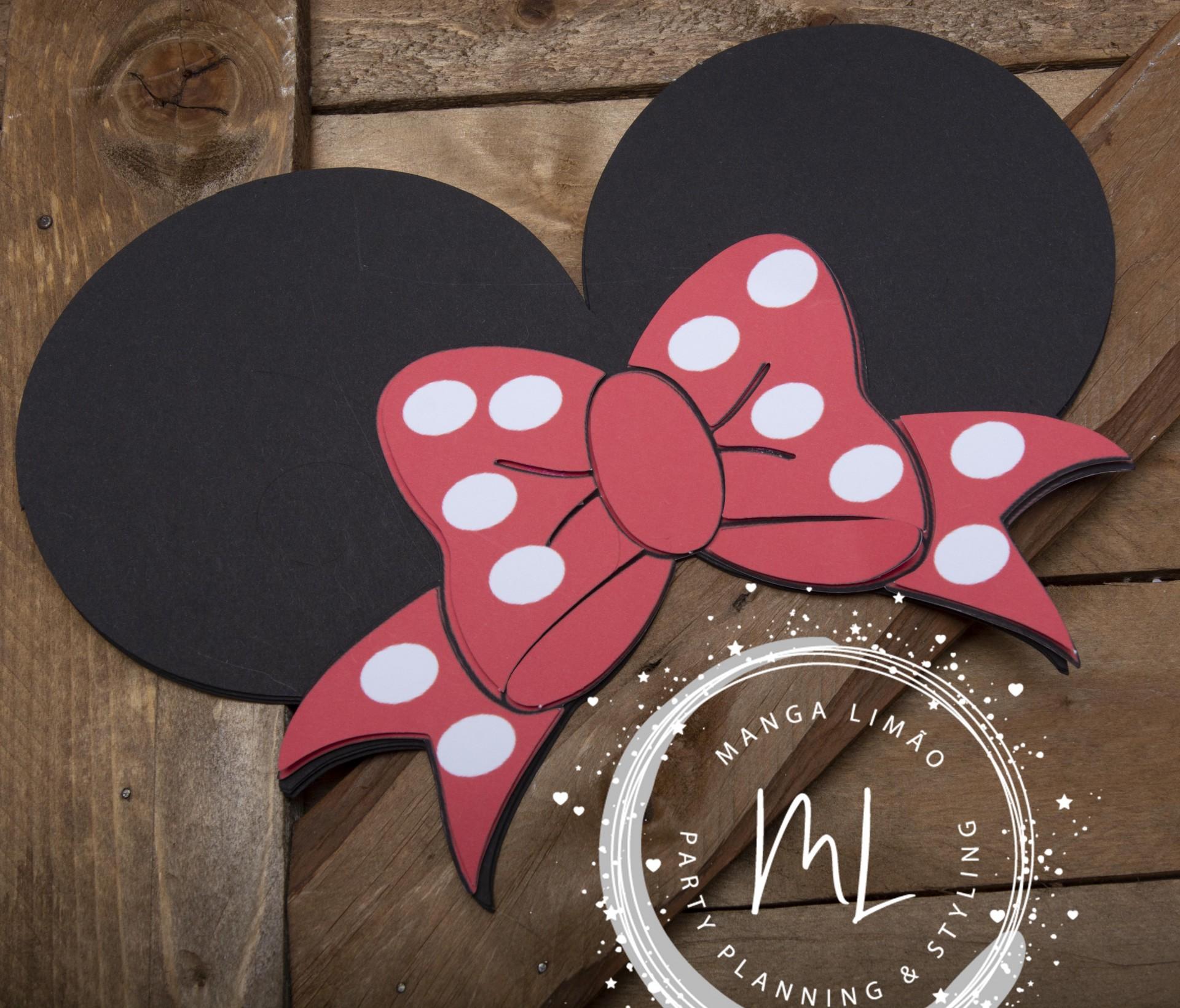 Orelhas da Minnie 2D
