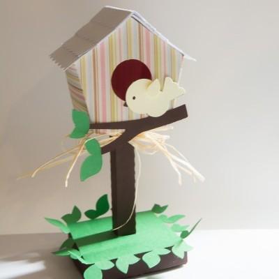 Casa de passarinho 3D