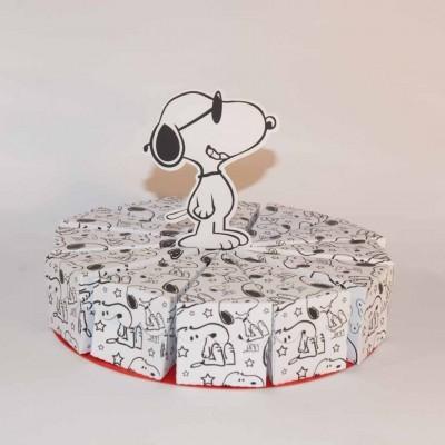 Falso Bolo Snoopy