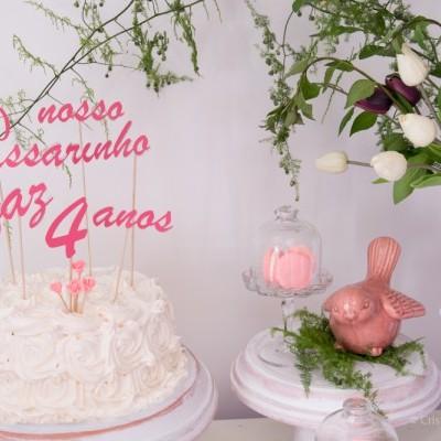 Festa de Aniversário Tema Passarinho