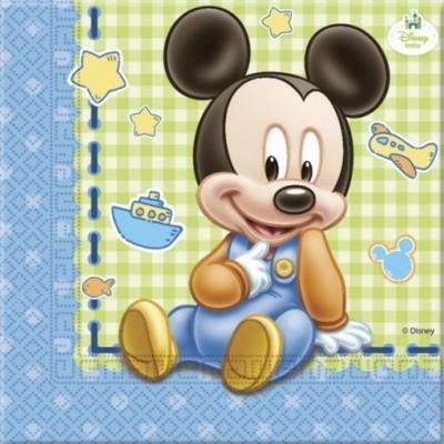 Acessórios de mesa Minnie e Mickey