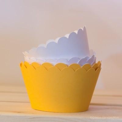 Cintas Lisas para Cupcakes e outros Bolos ( Pack 12 unidades )