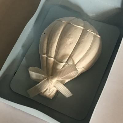 Balão de Ar quente em gesso perfumado em caixa de papel
