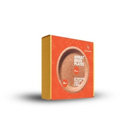 Prato Biodegradável Comestível 20 cm