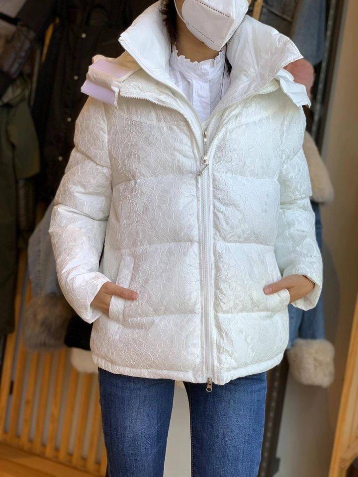 casaco acolchoado branco mulher inverno 2020 comprar online